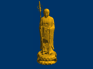 3DFO463-STL格式唐僧三维立体圆雕图唐僧3D打印模型唐僧3D雕刻图案唐僧立体精雕图下载