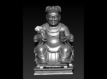 3DFO504-STL格式财神爷三维立体圆雕图财神爷3D打印模型财神爷3D雕刻图案财神爷立体精雕图下载