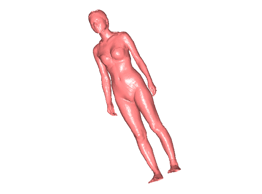 3DRW206-STL格式人物三维立体圆雕图人物3D打印模型人物3D雕刻图案人物立体精雕图下载